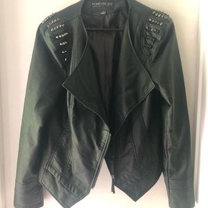 Forever21 Pleather Jacket